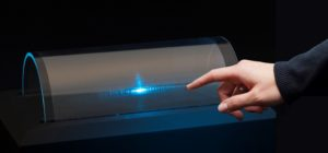 Printed touchscreen