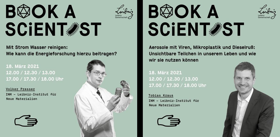 Das INM bei Book a Scientist 1