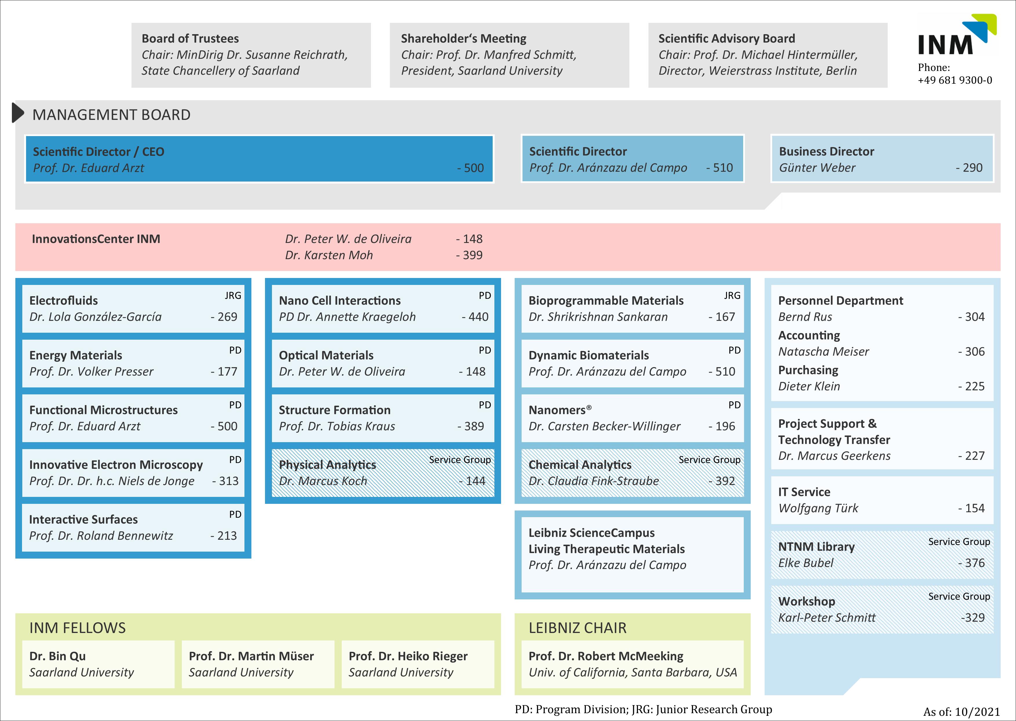 Organisation Chart 31
