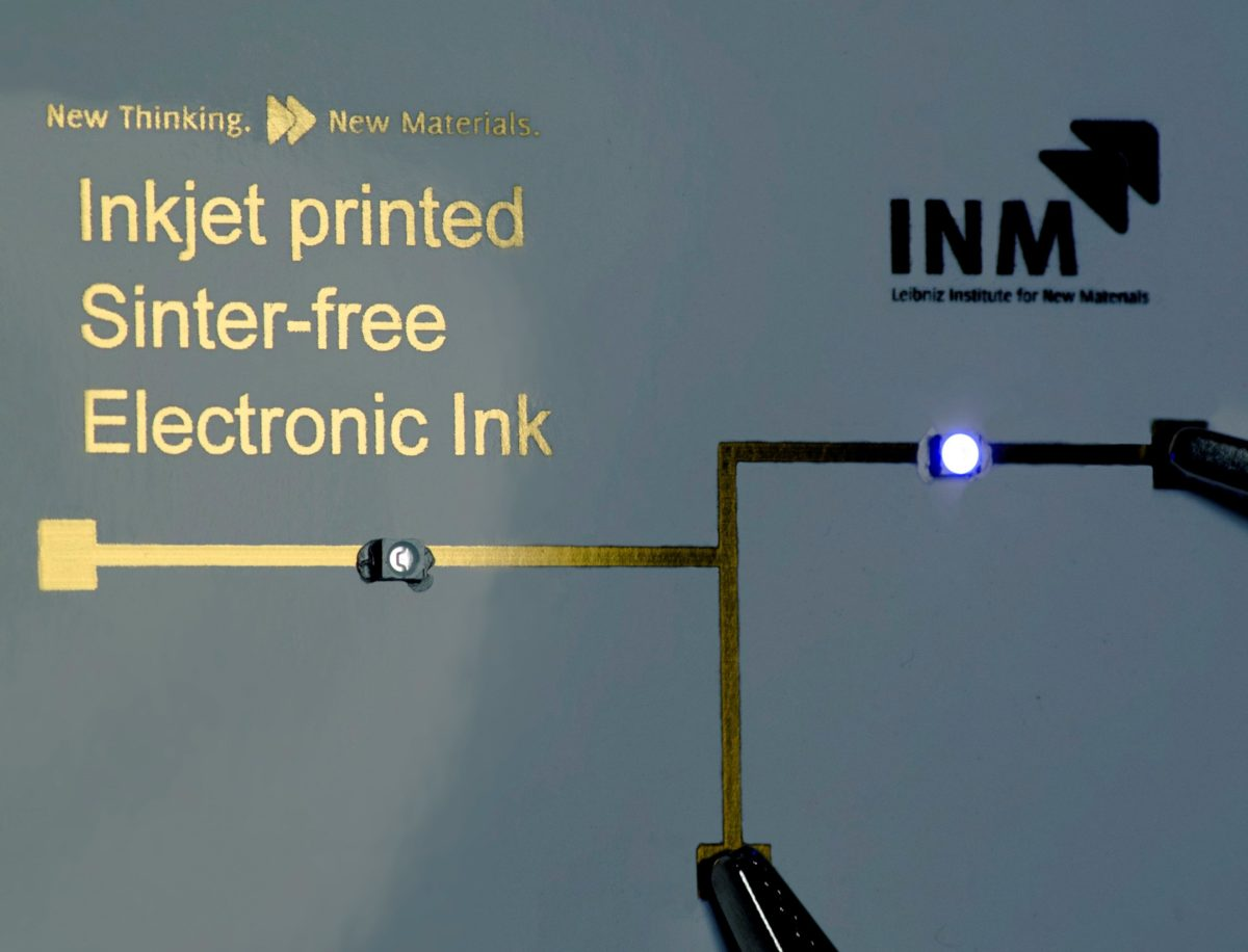 Tamper-proof sensor technology with materials from the INM