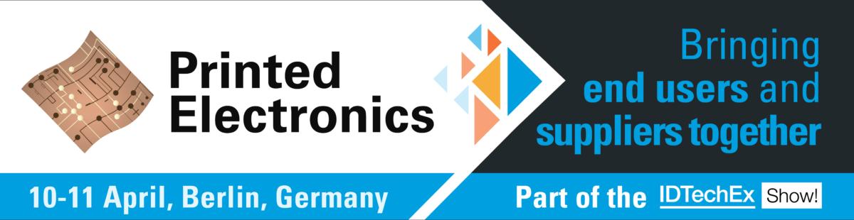 Printed Electronics Europe 2019