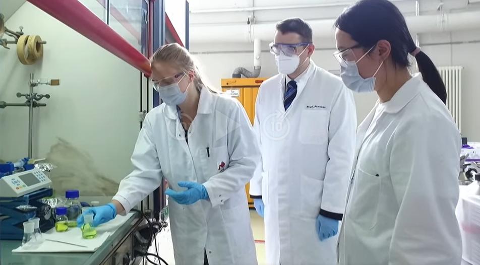 Prof. Volker Presser in 3sat nano: Lithium Extraction from Mine Water 1